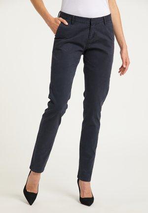 Trousers - dunkelmarine