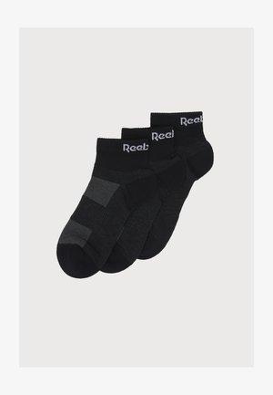 3 PACK UNISEX - Calze sportive - black