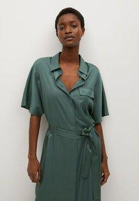 Mango - Košilové šaty - groen - 2