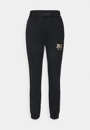 CARICO PANTALONE  - Tracksuit bottoms - black