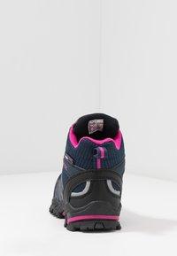 TrollKids - KIDS TROLLTUNGA MID UNISEX - Hiking shoes - navy/magenta - 4