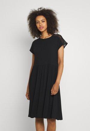 VMNANCY KNEE DRESS - Day dress - black