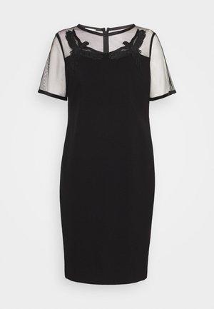 DABIRDYA - Jersey dress - black