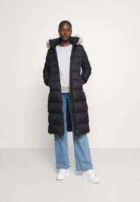 Tommy Hilfiger - TYRA MAXI - Down coat - black - 1