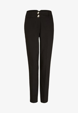 SKINNY FIT - Trousers - black