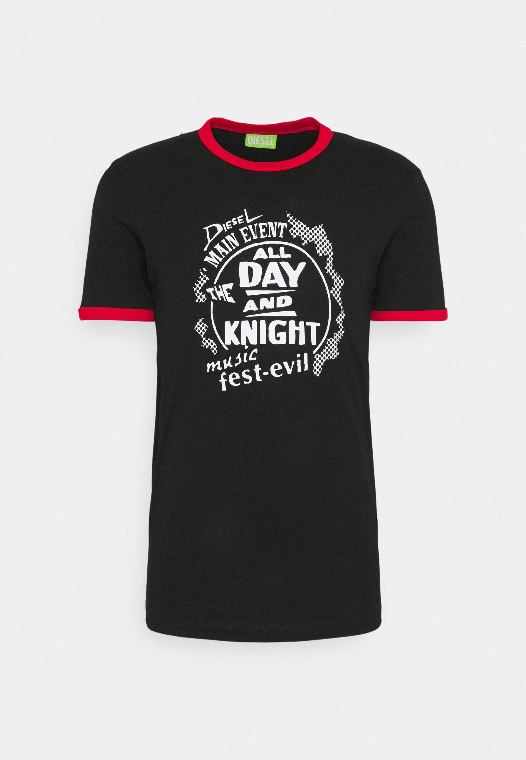 Men T-DIERING  UNISEX - Print T-shirt