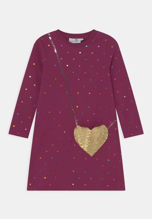 SEQUIN - Day dress - berry