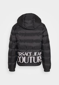 Versace Jeans Couture - RISTOP PRINTED LOGO BAROQUE - Down jacket - nero - 1