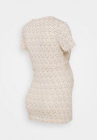 MAMALICIOUS - MLFIA 2 PACK - Print T-shirt - whitecap gray - 2