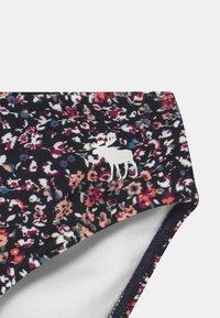Abercrombie & Fitch - DOUBLE KNOT FRONT SET - Bikini - navy - 2