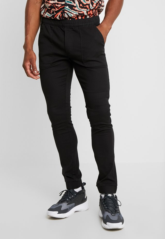 CARPENTER TROUSERS - Pantalon classique - black