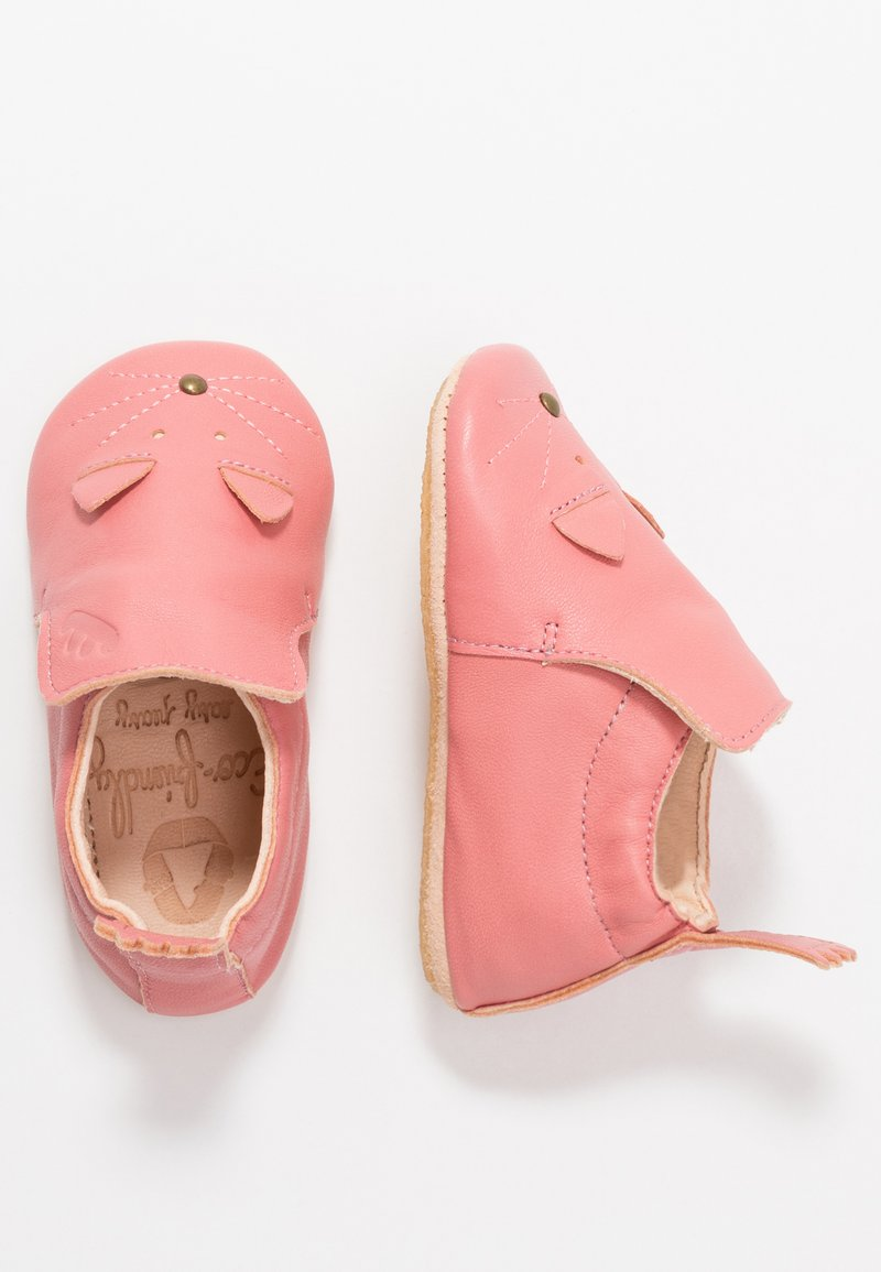 Easy Peasy - CHAT/SOURIS GIFT SET - First shoes - rosy