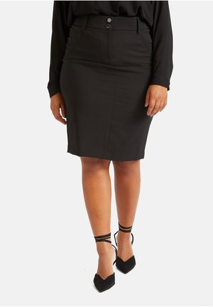 ETUIROCK - Pencil skirt - nero