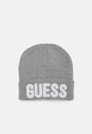 HAT WITH LOGO - Čepice - light heather grey