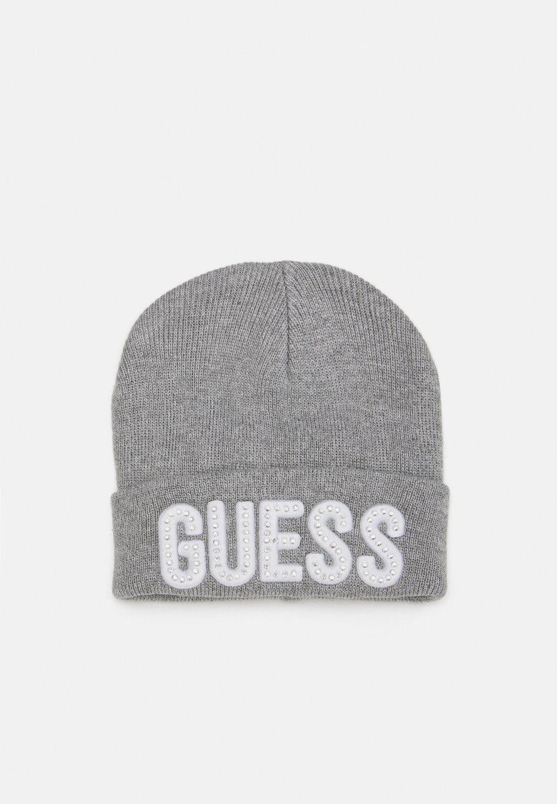 Guess - HAT WITH LOGO - Čepice - light heather grey