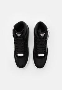 Emporio Armani - Sneakersy wysokie - nero - 3