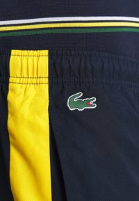 Lacoste Sport - TENNIS PANT - Pantalon de survêtement - navy blue/wasp-white-cosmic - 5