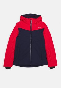 Kjus - BOYS DOWNFORCE JACKET - Ski jacket - atlanta/scarlet - 0
