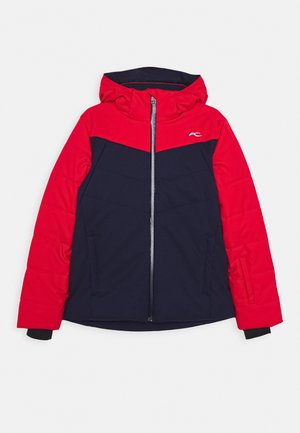 BOYS DOWNFORCE JACKET - Lyžařská bunda - atlanta/scarlet