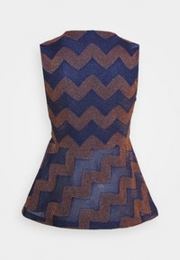 M Missoni - Camicetta - blue/rose gold - 1