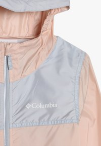 Columbia - BLOOMINGPORT UNISEX - Větrovka - peach cloud/cirrus grey - 4