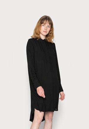 RADIA - Skjortklänning - black