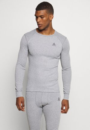 ACTIVE WARM ECO TOP CREW NECK - T-shirt de sport - grey melange