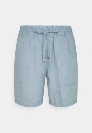 SOFT DRAPEY - Shorts - dust blue