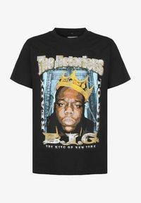 Mister Tee - BIGGIE CROWN  - Print T-shirt - black - 0