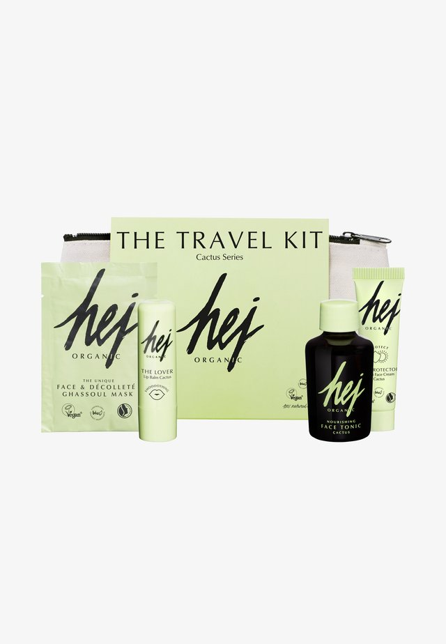 THE TRAVEL KIT - Hudplejesæt - neutral