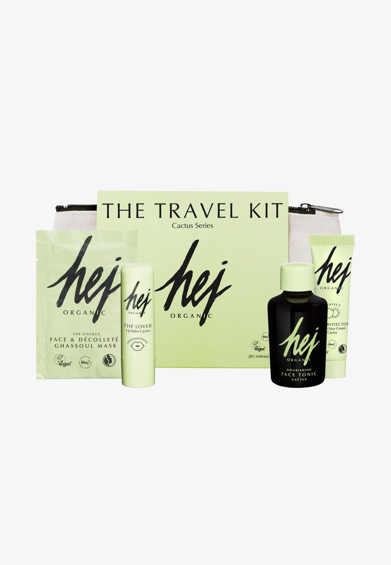 Hej Organic - THE TRAVEL KIT - Skincare set - neutral
