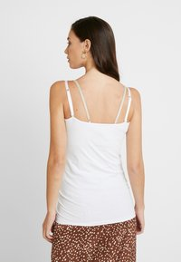 Esprit Maternity - SPAGHETTI NURSING - Top - white - 2