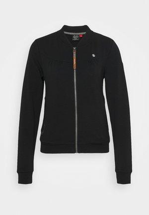 KENIA - veste en sweat zippée - black