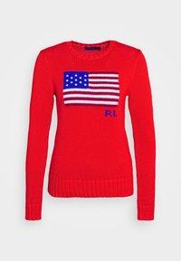 FLAG - Jumper - african red