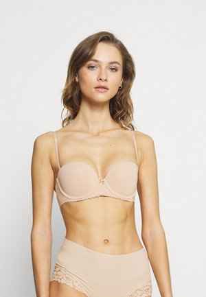 REAL HAPPY STRAPLESS  - Push-up BH - natural nude
