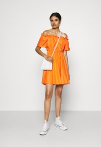 Missguided - BARDOT SKATER DRESS - Kjole - orange - 1