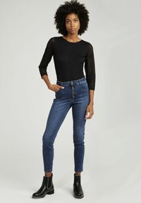 NAF NAF - SHIRT  - Long sleeved top - black - 1