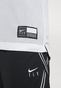 Nike Performance - FLY PRINT - Top - white/black - 7