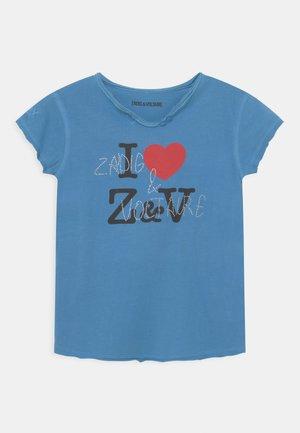 SHORT SLEEVES  - T-shirt imprimé - bleu marin