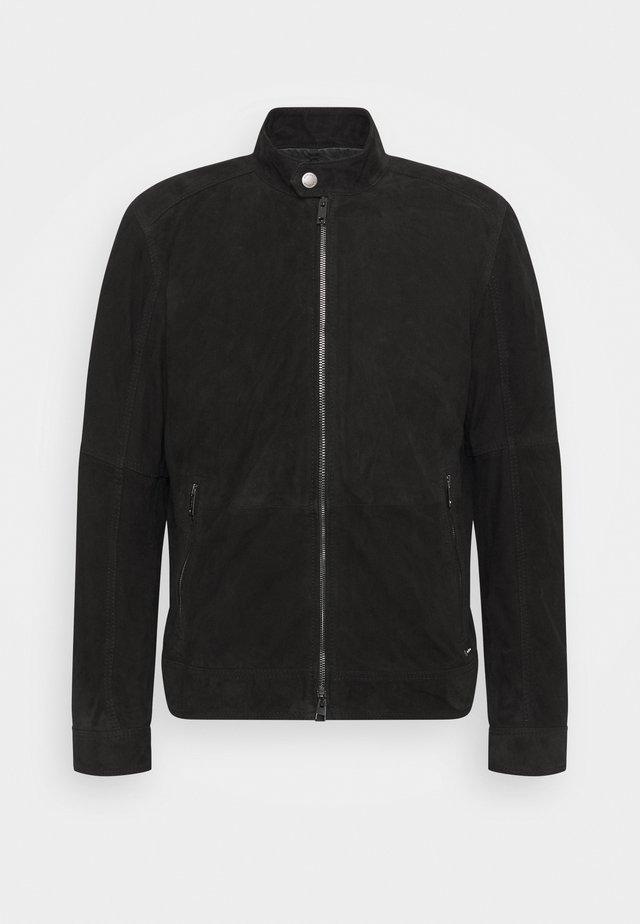 OSCO - Leren jas - black