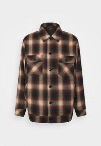 Mennace - FLECK CHECK  - Summer jacket - red/navy/ecru - 0