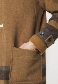 PS Paul Smith - MENS DUFFLE COAT - Classic coat - camel/blue - 4
