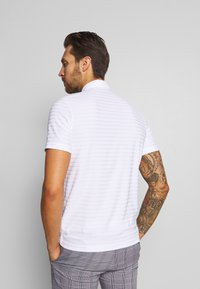 Lacoste Sport - GOLF STRIPE - T-shirt sportiva - white - 2