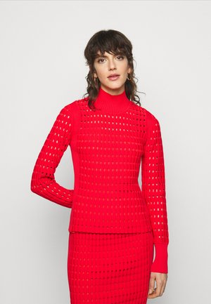 LONG SLEEVE - Svetr - red lacquer