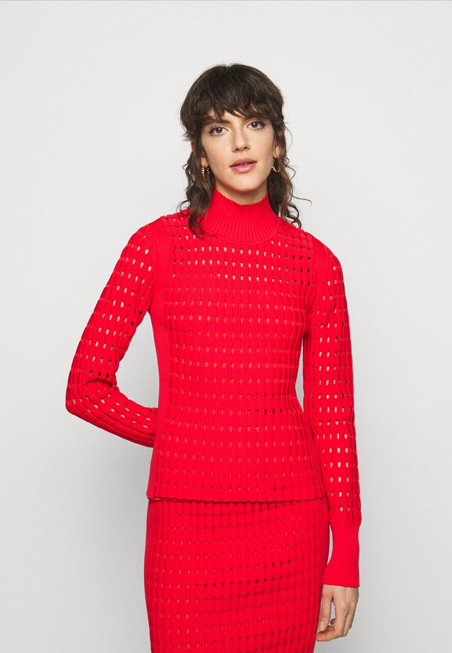 LONG SLEEVE - Trui - red lacquer