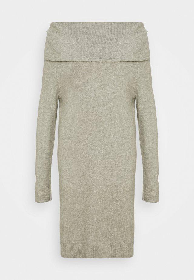 ONLMARLI LIFE DRESS - Pletené šaty - kalamata melange