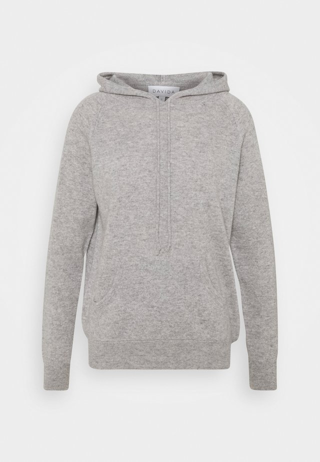 FRONT POCKET HOODIE - Hoodie - light grey