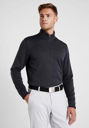 SWEATERFLEECE 1/2 ZIP - Sweatshirt - black
