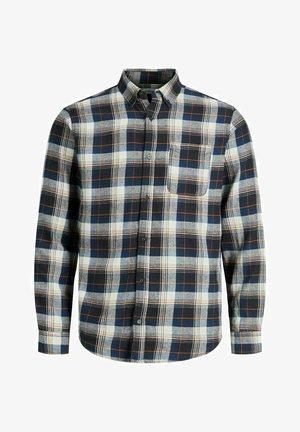 Overhemd - navy blazer