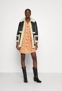 Mavi - LONG SLEEVE DRESS - Shirt dress - autumn maple - 1
